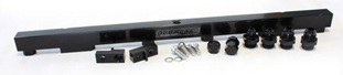 Aeroflow Billet Fuel Rail - RB26 (black)