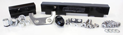 Aeroflow Billet Fuel Rail - S4-5 RX7 (black)