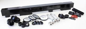 Aeroflow Billet Fuel Rail - SR20 S13 (black)