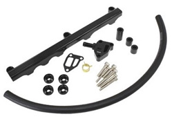 Aeroflow Billet Fuel Rail - SR20 S14 - S15 (black)