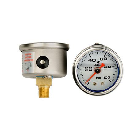 Aeromotive 0-100 psi Fuel Pressure gauge - 15633