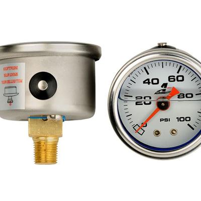 Aeromotive 0-100 psi Fuel Pressure gauge