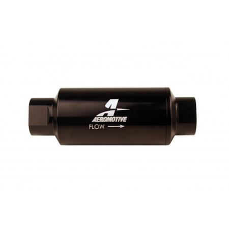 Aeromotive 10 Micron Microglass (AN-10) E85 Black Fuel Filter - 12350