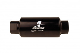 Aeromotive 10 Micron Microglass (AN-10) E85 Black Fuel Filter