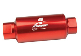Aeromotive 100 Micron ORB-10 Red Fuel Filter