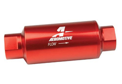 Aeromotive 40 Micron ORB-10 Red Fuel Filter
