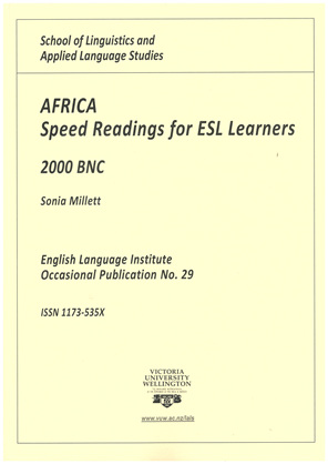 Africa Speed Readings for Esl Learners 2000 Bnc