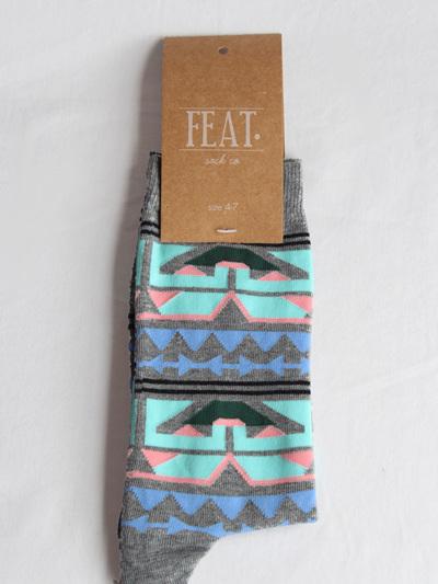 Afro Print Sock