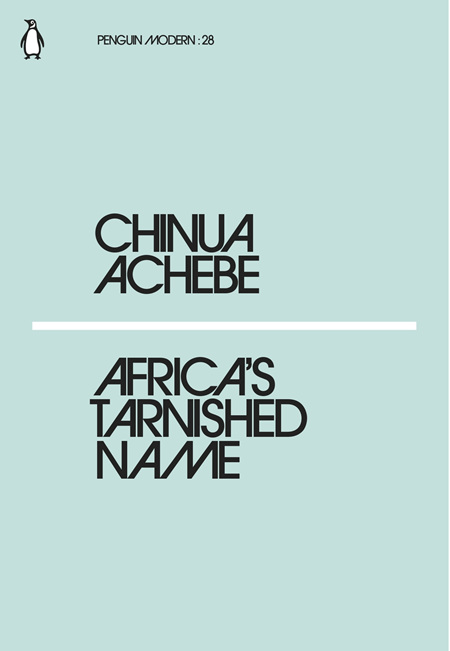 Africa's Tarnished Name (PRE-ORDER ONLY)