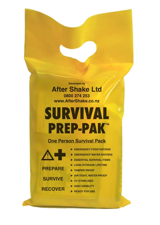 After Shake Emergency Survival PREP-PAK