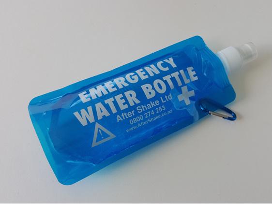 After Shake Emergency Water Bottle