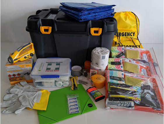After Shake Five Person Emergency Kit