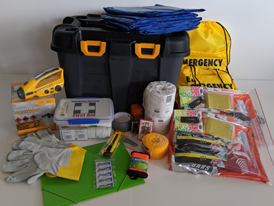 Four Person Comprehensive Emergency Kit