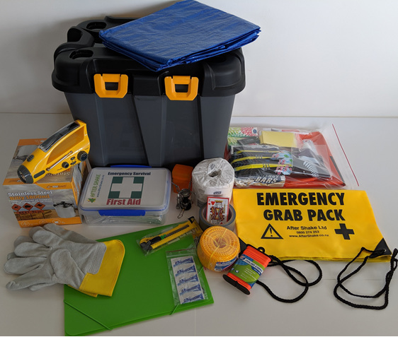 After Shake One Person Emergency Kit