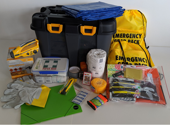 After Shake Three Person Emergency Kit