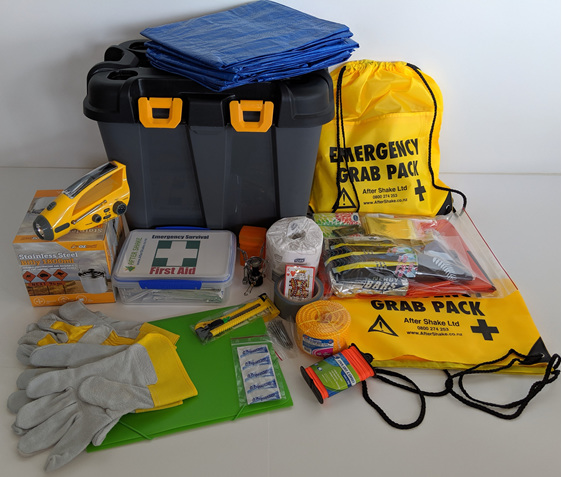 After Shake Two Person Emergency Kit