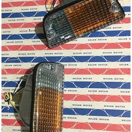 Aftermarket Datsun 620 Bumper Light Pair