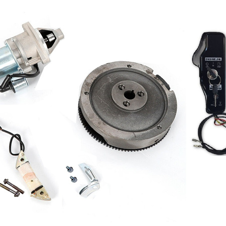 Aftermarket Electric Start Kit for 11hp - 16hp clone engine