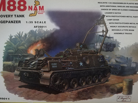 AFV Club 1/35 M88 Recovery Tank Bergepanzer (AF35011)