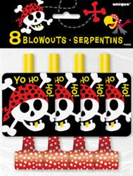 Ahoy Pirate Fun 8 pkt blowouts