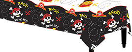 Ahoy Pirate Fun Table Cover