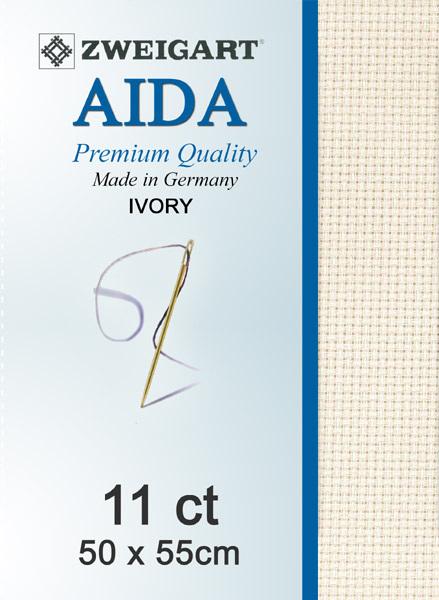 Aida 11ct Ivory