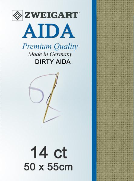 Aida 14ct Dirty Aida