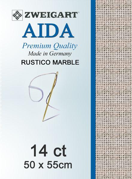 Aida 14ct Rustico Marble