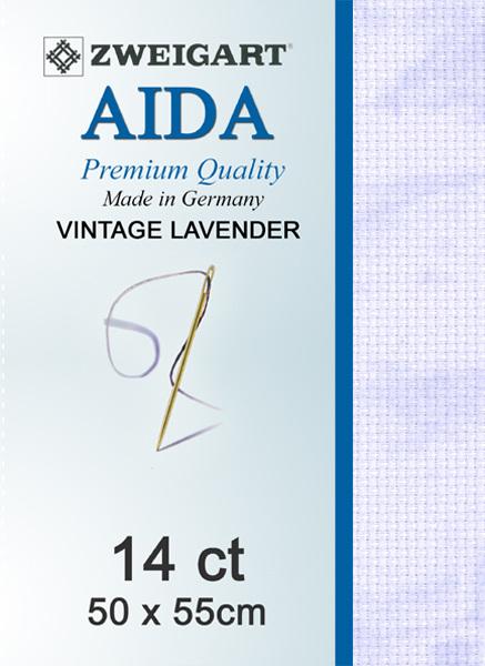 Aida 14ct Vintage Lavender