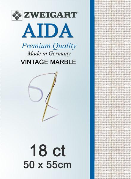 Aida 14ct Vintage Marble