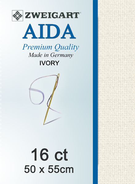 Aida 16ct Ivory