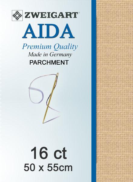 Aida 16ct Parchment