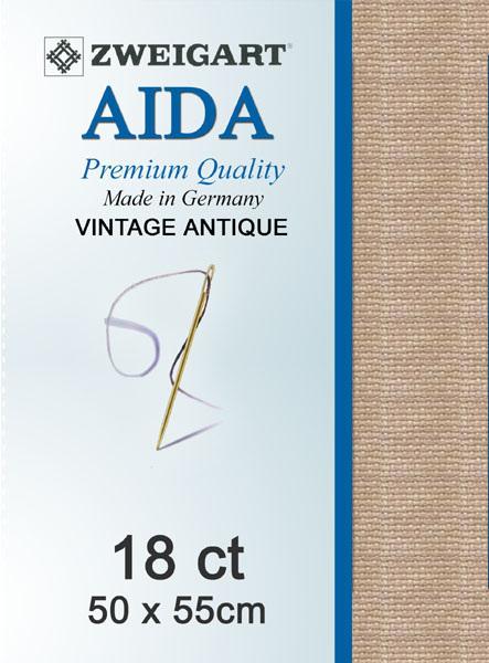 Aida 18ct  Dirty Aida