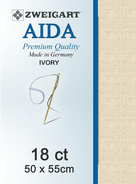 Aida 18ct Ivory