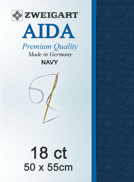 Aida 18ct Navy