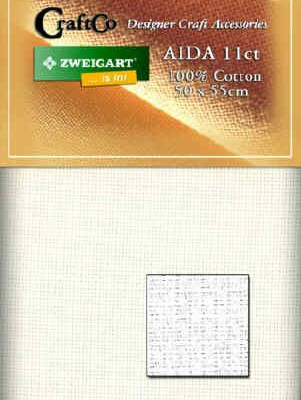 Aida Fat Quarter - 11 count