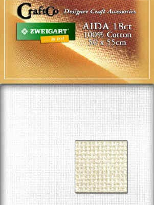 Aida Fat Quarter - 18 count