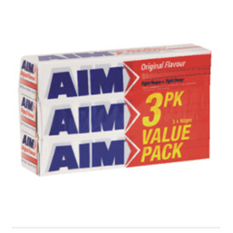 AIM TOOTHPASTE 90G 3 PACK VALUE
