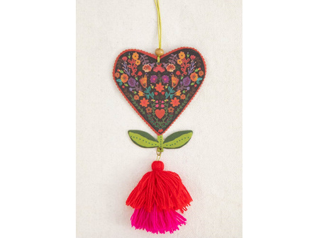 Air Freshner-Heart Flower