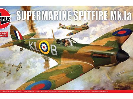Airfix 1/24 Supermarine Spitfire Mk1a (A12001V)