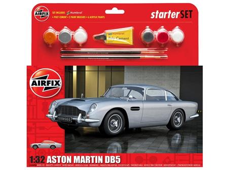 Airfix 1/32 Aston Martin DB5 - Starter Set (A50089B)