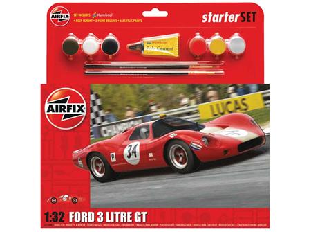 Airfix 1/32 Ford 3 litre GT - Starter Set (A55308)