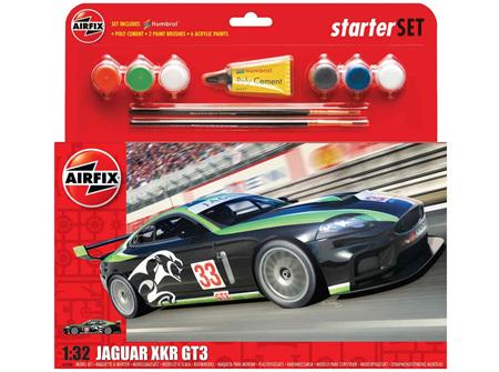 Airfix 1/32 Jaguar XKR GT3 - Starter Set (A55306)