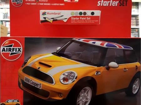 Airfix 1/32 Mini Cooper S - Starter Set (A55310)