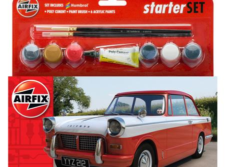 Airfix 1/32 Triumph Herald - Starter Set (A55201)