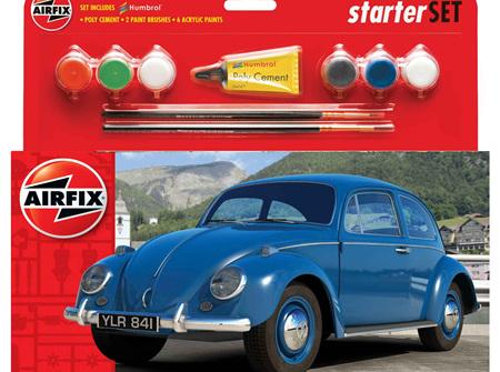 Airfix 1/32 VW Beetle - Starter Set (A55207)