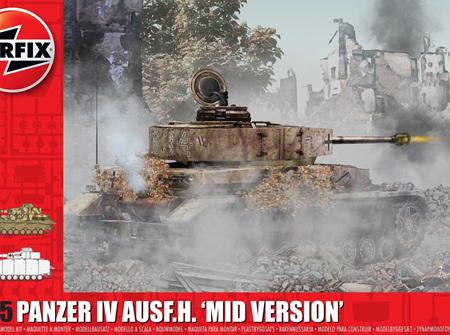 Airfix 1/35 Panzer IV AUSF.H. 'Mid Version' (A1351)