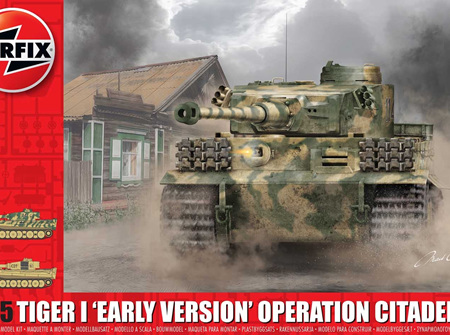 Airfix 1/35 Tiger 1 'Early Version' Operation Citadel (A1354)