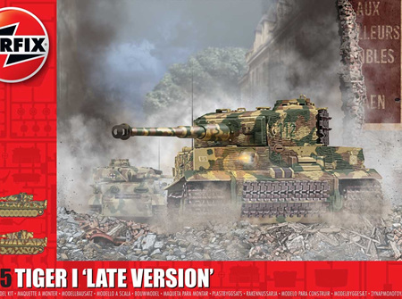 Airfix 1/35 Tiger I 'Late Version' (A1364)