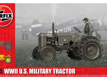 Airfix 1/35 WWII US Military Tractor (A1367)